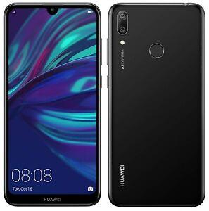 Huawei Y7 2019 6.26'' 4G Smartphone 3GB RAM 32GB Unlocked - Black (No Accs) C+