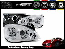 FARI ANTERIORI HEADLIGHTS LPOP28 OPEL CORSA C 2000-2004 2005 2006 ANGEL EYES