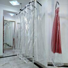 Vestido de boda Vestido de Novia de grande bolso de ropa cubierta a prueba de polvo almacenamiento cremallera clara