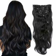 """Body Wave Clip in Hair Extensions Double Weft 100% Remy Human Hair 16"""""""