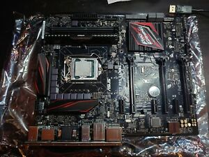 Asus z170 pro gaming With Intel I7 6700 8GB DDR4 Corsair Vengeance 2666