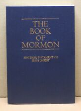 The Book of Mormon Another Testament of Jesus Christ 2013 Near Fine Leatherette