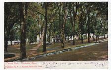 Rockville, Connecticut,  View of Talcott Park, 1907