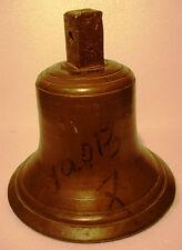 Vintage LARGE Marine Brass BELL - Great Sounding - Nautical -Ship's Original (J)
