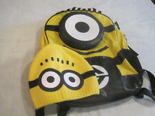 Despicable Me Backpack with Beanie/Hat/Cap~LBDLS
