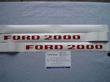 Aufkleber Abziehbild Traktor Schlepper Ford 2000 NEU