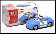 Tomica Disney CARS 2 RESCUE GO GO Sally Porsche Police Patrol Car Tomy TAKARA