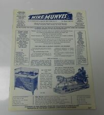 1956 Mike Munves Corp. Coin-Op Skill Vending & Music Machine Catalog Fvf Reprint