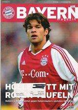 Bayern Magazin 7/56 , Bayern München - 1.FC Kaiserslautern , 20.11..2004