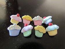 "Dress it Up ""Mini Sweet Treats"" Buttons Cupcakes"
