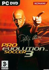 Pro Evolution Soccer 3 ( PC DVD Game ) * NEW * & Sealed, FREE US SHIPPING