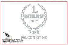 Bathurst Tribute Sticker, Ford Falcon GT-HO - Med