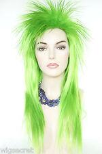 Elvira, the Mistress of the Dark Long Straight Fun Color Costume Wigs