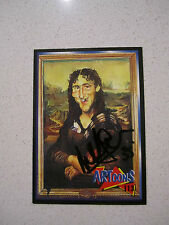 COLLINGWOOD MAGPIES - PETER DAICOS SIGNED 1994 AFL PA ARTOONS CARD