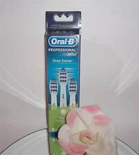 3 Pack Oral-B Deep Sweep Replacement Brush Heads Toothbrush Refills