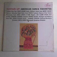 "33T CURTAIN UP Disque Vinyle LP 12"" AMERICAN DANCE FAVORITES - MERCURY 50326"