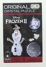 Disney Frozen 2 Olaf 39 Piece 3D Crystal Jigsaw Puzzle