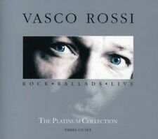 VASCO ROSSI - PLATINUM COLLECTION-ROCK BALLADS LIVE (SPECIAL EDITION) 3 CD  NEU