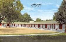 Sioux City Iowa Elmdale Motel Street View Vintage Postcard K52688