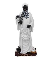 "12"" Orisha Obatala Statue Yoruba Santeria Lucumi African God"