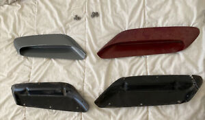 Plymouth Cuda Rallye bulge hood scoops & Gaskets 1970 1971 1972 1973 1974
