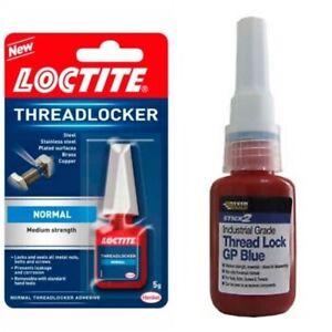 Thread Lock Medium Tetrion Loctite Everbuild Engineer Mechanic Anti Vibration