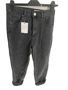 ASOS DESIGN high rise 'slouchy' mom jeans. Never been worn, tags attached.