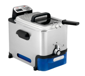 Tefal FR8040 Oleoclean Pro Deep Fryer with Automatic Oil Filtration