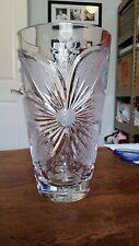 Dresden Signed Dotted Vase