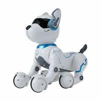 Remote Control Dog Pet Puppy Robotic Interactive Toy Birthday Gift Item JK