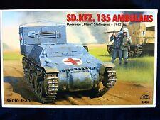 SD.KFZ.135 ambulance, opération blau 1942, échelle 1/35 par rpm
