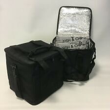 2 x Delivery Driver Bags Insulated Food/Drink Hot/Cold Budget Range Cheap Bag T4