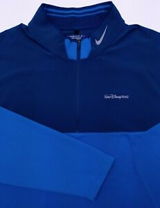 NIKE GOLF Tour Performance Men's XXL Walt Disney World Golf Quarter Zip Jacket