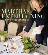 Martha's Entertaining: A Year of Celebrations by Martha Stewart Hardcover Book