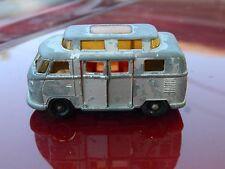 Matchbox Lesney Regular Black Wheels Volkswagen Camper No 34