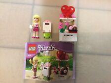 Lego Friends 30105 Stephanie Postbox. Used, No Box. Complete