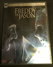 Freddy Vs. Jason [Dvd, 2004] New Line Platinum Series, 2 Disc Edition, Like New