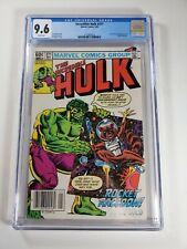 Incredible Hulk #271 CGC 9.6 1982 2nd app. Rocket Raccoon! Newsstand!