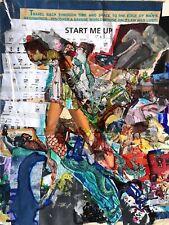 "Eugene Chadbourne ""Start Me Up"" ORIGINAL ARTWORK + LP"