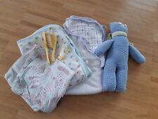Baby Neugeborenen Paket: Baby-Decke, Kaputzenhandtuch, Spucktuch Nagelknipser