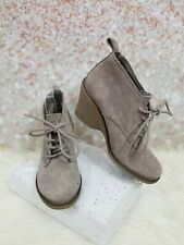 SONOMA ANKLE WEDGE BOOTS SIZE 6.5 M