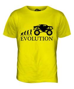 MONSTER TRUCK EVOLUTION MENS T-SHIRT TEE TOP GIFT RC CAR