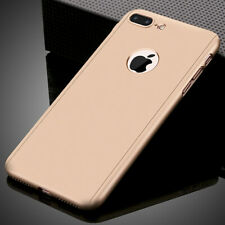 360° Full Case Cover For iPhone X XS Max XR 6 7 8 Plus 6S With Screen Protector