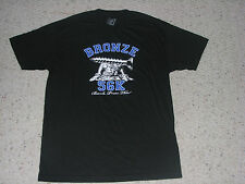BRONZE 56K 56 K AUTHENTIC TSHIRT T SHIRT BLACK NAIL BENCH PRESS THIS NEW XL
