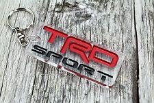 Toyota TRD Sport keychain JDM Tundra porta-chaves custom badge keyring accessory