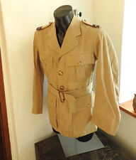 Military WW2 RAF Flight Lieutenant Tropical Dress Khaki Jacket Uniform (4551