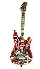 Scrap metal art guitar