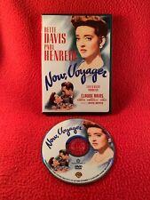 Now, Voyager DVD Bette Davis 1942 Paul Henreid Claude Rains Rare Region 1 USA