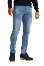 Mens Stretch Slim Fit Jeans Fashionable 5 Pocket Denim Pants