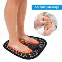 Electric EMS Foot Massager Feet Muscle Stimulator ABS Foot Vibrator Massage Mat